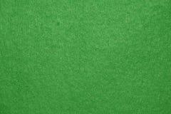 Grünfilzhintergrund. Stockfotografie