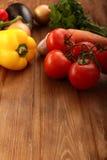 Grönsakuppsättning Arkivfoton