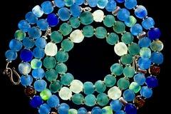 Grânulos de vidro Fotos de Stock