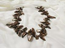 Grânulos feitos do mother-of-pearl Imagens de Stock