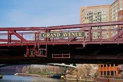 Großartige Alleen-Brücke, Chicago, USA Lizenzfreies Stockfoto