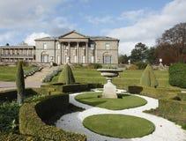 Großartige alte Villa Stockbild