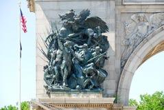 Großartige Armee-Piazza - Brooklyn, New York lizenzfreies stockbild