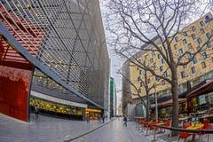 Großartige Bürogebäude auf mehr London-Flussufer, London Lizenzfreie Stockfotos