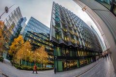 Großartige Bürogebäude auf mehr London-Flussufer, London Lizenzfreies Stockfoto
