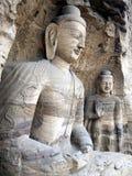 Großartige Buddha-Statue Stockbild
