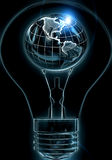 Großartige Ideen können die Welt bewegen Lizenzfreies Stockfoto