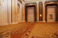 Großartige luxuriöse Hotelhalle lizenzfreie stockfotografie
