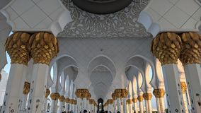 Großartige Moschee Abu Dhabi Stockfoto