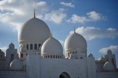 Großartige Moschee Abu Dhabi Stockfotografie
