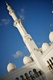 Großartige Moschee Abu Dhabi Stockbild