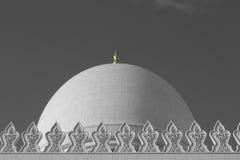 Großartige Moschee Abu Dhabi Stockbilder