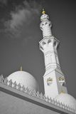 Großartige Moschee Abu Dhabi Lizenzfreies Stockbild