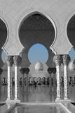Großartige Moschee Abu Dhabi Lizenzfreie Stockfotos