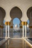 Großartige Moschee Abu Dhabi Lizenzfreies Stockfoto