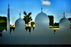 Großartige Moschee Abu Dhabi Lizenzfreie Stockbilder