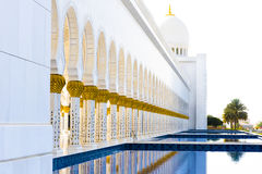Großartige Moschee, Abu Dhabi Stockfotografie