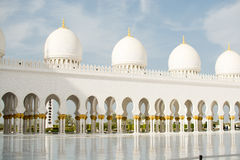 Großartige Moschee, Abu Dhabi, UAE Stockbild