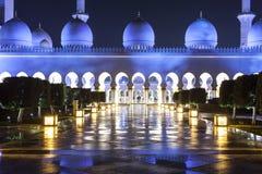 Großartige Moschee in Abu Dhabi, UAE Lizenzfreie Stockfotografie