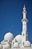 Großartige Moschee in Abu Dhabi, Vereinigte Arabische Emirate Stockbilder