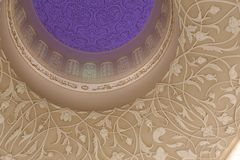 Großartige Moschee Abu Dhabi Zayed Lizenzfreies Stockfoto