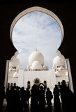 Großartige Moschee Adu Dhabi Lizenzfreies Stockfoto