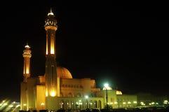 Großartige Moschee in Bahrain Stockfotografie