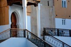 Großartige Moschee in Chefchaouen Stockfotos