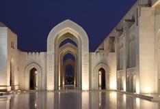 Großartige Moschee in der Muskatellertraube, Oman Lizenzfreies Stockfoto