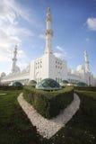 Großartige Moschee draußen Stockfoto