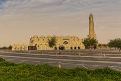 Großartige Moschee am frühen Morgen Stockfotografie