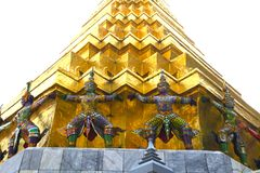 Großartige Palast bankok Thailand-Kunst des Friedens Lizenzfreies Stockbild