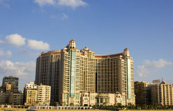 Großartige Piazza San-Stefano, Alexandrea, Ägypten Lizenzfreies Stockfoto