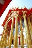 Großartige Tempelansicht. Stockbild