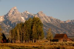 Großartige Teton Pracht Stockfoto