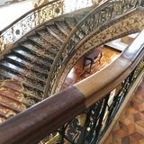 großartige Treppe stockbild