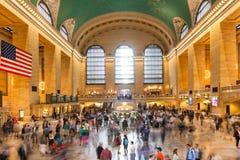 Großartige zentrale Bahnstation in Manhattan New York - USA - vereinigt Stockbild