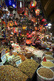 Großartiger Basar - Istanbul - die Türkei lizenzfreie stockfotografie