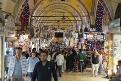 Großartiger Basar, Istanbul, die Türkei, Reisen-Zieleinheit stockbild