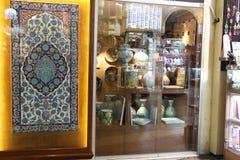 Großartiger Basar kauft in Istanbul Stockfotos