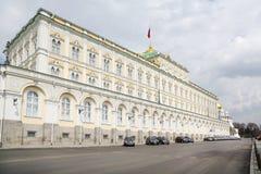 Großartiger der Kreml-Palast für Staatsrat Stockfotografie