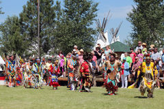 Großartiger Eingang - Powwow 2013 Lizenzfreie Stockfotografie