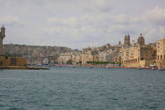 Großartiger Hafen in Malta lizenzfreies stockfoto