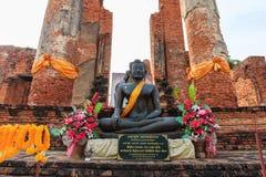 Großartiger Hall von Thammikarat-Tempel in Ayutthaya, in Thailand) Lizenzfreie Stockbilder