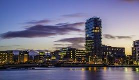 Großartiger Kanal-Quadrat, Dublin Stockbilder