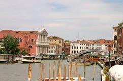 Großartiger Kanal in Venedig Stockbilder