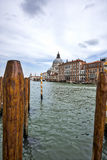 Großartiger Kanal in Venedig Lizenzfreies Stockfoto