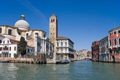 Großartiger Kanal. Venedig lizenzfreies stockfoto