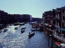 Großartiger Kanal, Venedig, Italien Lizenzfreies Stockbild