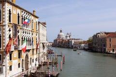 Großartiger Kanal in Venedig, Italien Stockbilder